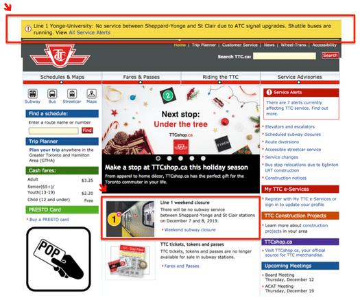TTC Website