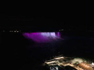 尼加拉瀑布-Niagara Lighting Show